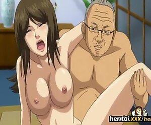 Busty Secretary Orgams on Boss cock - Hentai.xxx