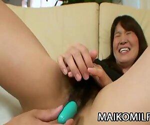 Takako Yanase - Mature JAV Gets A Messy Facial Load