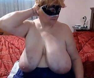 massive boob granny
