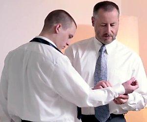 Mormon twink gets tugged