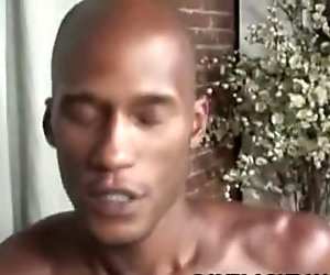 Billy Long and Cuba Santos: Sizzling Black On Black Rectal Affair