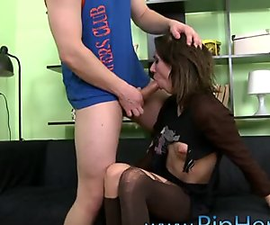 Floozy cries from painful fun from anal banging