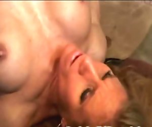 Horny fit blonde MILF gets fucked by her also fit husband