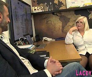 British granny gives head