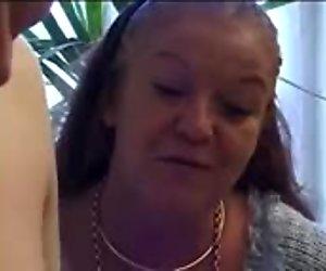 Grandma Urges Her To Fuck Nice Ass