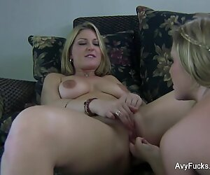 Home video romp with Avy Scott and Aurora Snow